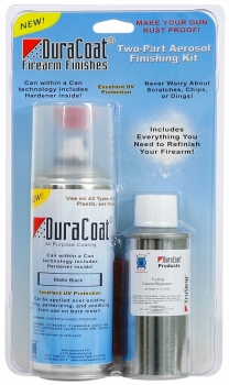 DuraCoat Aerosol Finishing Kit- HK SEMI GLOSS BLACK