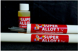Cecil Muggy Super Alloy 1 - Multi Metal Solder with Liquid Flux