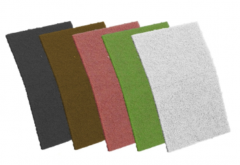 MAROON Non Woven Hand PadS 10 PACK