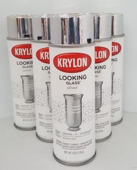 Krylon Looking Glass Mirror Spray - Silver - 6 PACK
