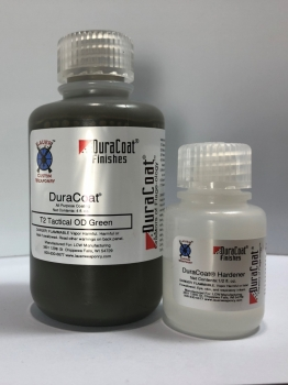DuraCoat 4 oz Liquid with Hardener -  T2 Tactical OD Green