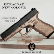 DuraCoat 4 oz Liquid with Hardener -  Lebreux Tactical Rose Gold