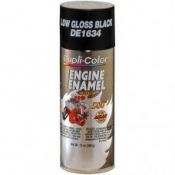 Dupli Color Engine Enamel GM/Chrysler LOW Gloss Black