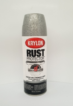 KRYLON® SILVER HAMMERED RUST PROTECTOR