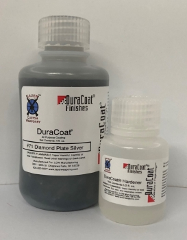 DuraCoat 4 oz Liquid with Hardener - Diamond Plate Silver