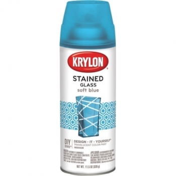 KRYLON STAINED GLASS - SOFT BLUE