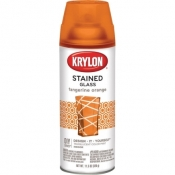KRYLON STAINED GLASS - TANGERINE ORANGE