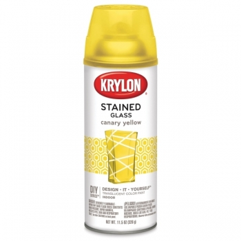 KRYLON STAINED GLASS - CANARY YELLOW