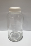 Preval 6oz Paint Glass Jar with Lid
