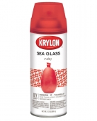 Krylon Sea Glass - Ruby