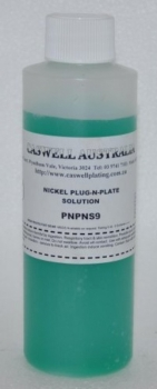Plug N' Plate® Nickel Solution 8 oz