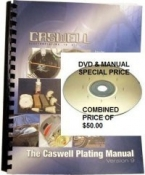 The Caswell Plating Manual and LCD DVD