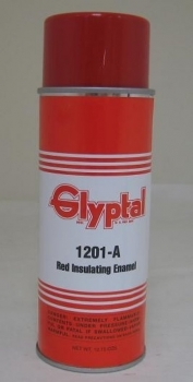 Glyptal Spray On Red Enamel 12.75oz