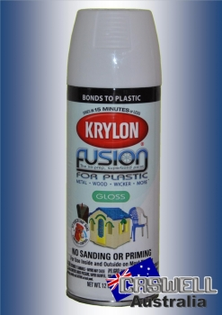 Fusion For Plastic - Gloss White