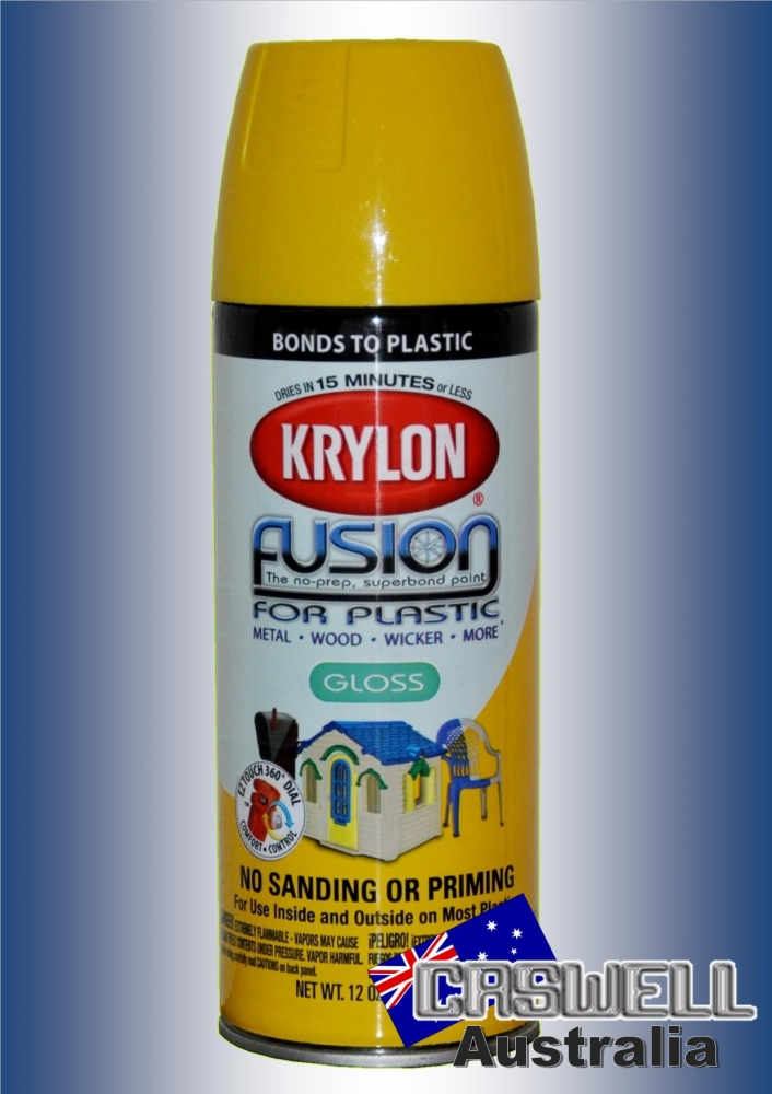 Fusion For Plastic Sunbeam Saftey Yellow Gloss Caswell Australia