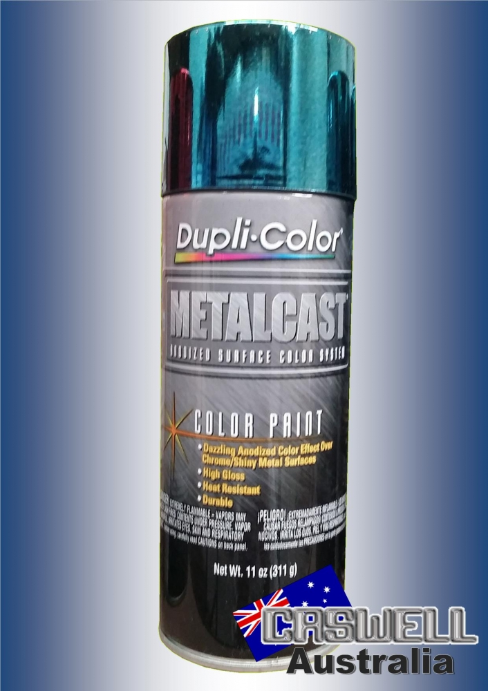 Dupli Color METALCAST BLUE ANODIZED COLOUR | Caswell Australia