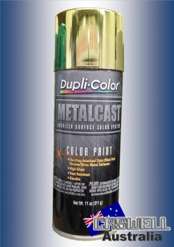 Dupli Color METALCAST YELLOW ANODIZED COLOUR