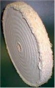 SW8HC2SEC Sisal Wheel 2 SECTION with Hard Centre 200mm
