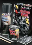DUPLI-COLOR CALIPER PAINT KIT SATIN BLACK