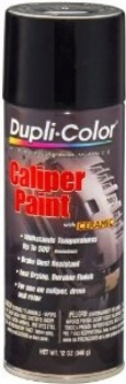 Dupli-Color Brake Caliper and Drum Paint Aerosol 400gram Satin Black