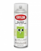 Krylon Glowz - glow in the dark paint - green