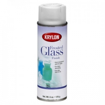 Krylon frosted glass finish paint