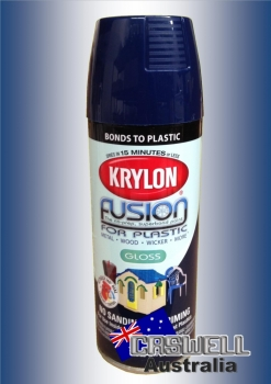 Fusion For Plastic - Navy Gloss