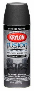 Fusion For Plastic - Hammered Black