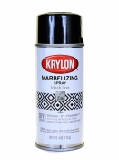 Krylon Webbing Marbelizing Spray - Black Lava