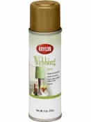 Krylon Webbing Spray - Gold Chiffon