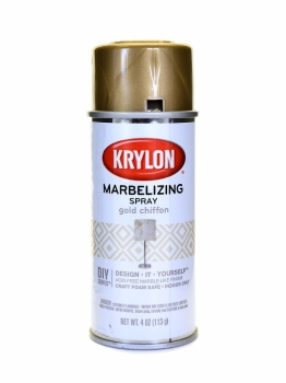Krylon Webbing Marbelizing Spray - Gold Chiffon